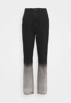 Missguided - TIE DYE OMBRE WRATH - Jeans a sigaretta - black