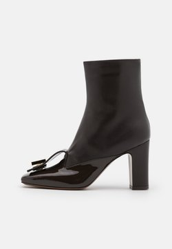 L'Autre Chose - BOOT ZIP - High Heel Stiefelette - dark brown