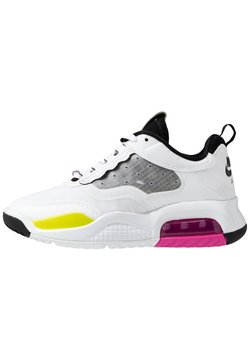 Jordan - MAX 200 BG UNISEX - Basketbalschoenen - white/active fuchsia/cyber/black