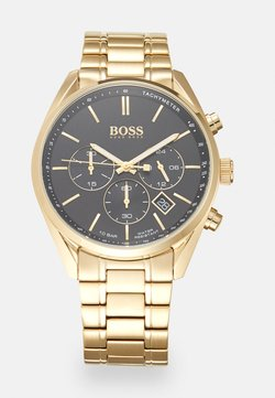 BOSS - CHAMPION - Kronografklockor - gold-coloured