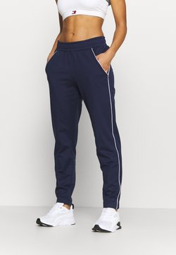 Under Armour - TRICOT PANT - Jogginghose - midnight navy