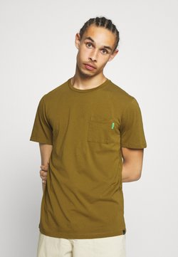 Scotch & Soda - T-shirt basic - military green