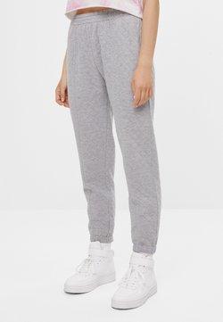 Bershka - Jogginghose - light grey