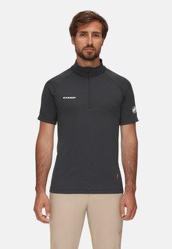 Mammut - AEGILITY  - T-shirt con stampa - phantom melange-white