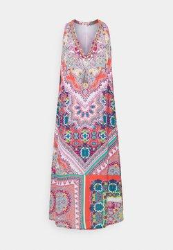 Derhy - SOHO DRESS - Vestido largo - coral
