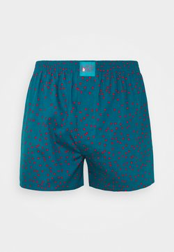 Lousy Livin Underwear - DOTS - Boxershorts - teal