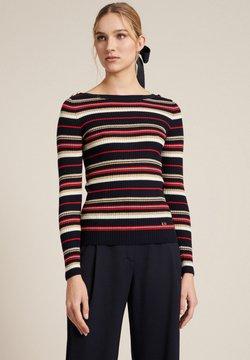 Luisa Spagnoli - MARAMEO  - Strickpullover - black, red, off-white
