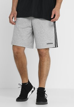 adidas Performance - Pantalón corto de deporte - medium grey heather