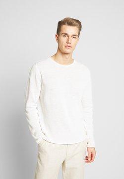 Jack & Jones PREMIUM - JPRBLALINEN CREW NECK - Jersey de punto - blanc de blanc