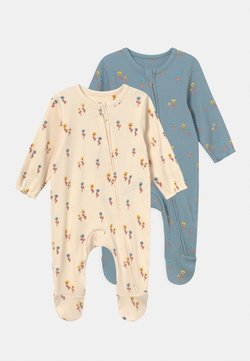 Marks & Spencer London - BABY FLORAL 2 PACK - Tutina - blue mix