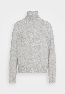 CLOSED - Strickpullover - light grey melange