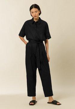 IVY & OAK - ZENZERO - Jumpsuit - black