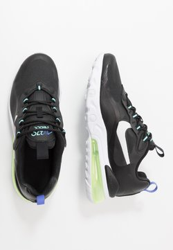 Nike Sportswear - AIR MAX 270 REACT - Sneakers laag - black/dark smoke grey/laser crimson/voltage purple