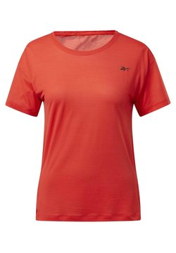 Reebok - WORKOUT READY ACTIVCHILL T-SHIRT - T-Shirt basic - red