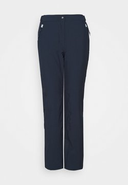 CMP - WOMAN SKI PANT - Pantalon de ski - black/blue