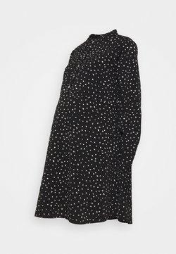 Dorothy Perkins Maternity - SHIRT DRESS - Vestido camisero - black
