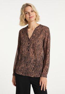 usha - Langarmshirt - schwarz rosa