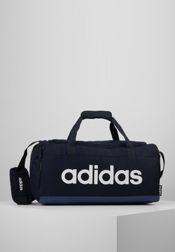 adidas Performance - ESSENTIALS LINEAR SPORT DUFFEL BAG UNISEX - Sporttasche - legink/tecind/white