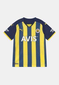 Puma - FENERBAHÇE ISTANBUL HOME REPLICA JR UNISEX - Artykuły klubowe - blazing yellow/medieval blue