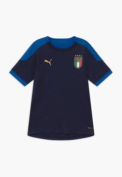 Puma - ITALIEN FIGC TRAINING SHIRT - Equipación de selecciones - peacoat/team power blue