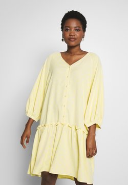 Love Copenhagen - BROLC DRESS - Abito a camicia - jojoba yellow