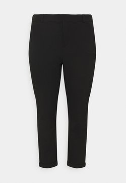 Vero Moda Curve - VMMAYA MR LOOSE SOLID PANT - Pantalones - black