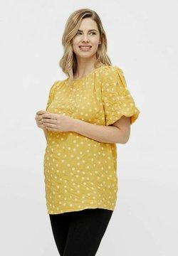 MAMALICIOUS - MLSUNVA - Bluse - yolk yellow