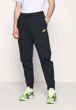 Nike Sportswear - Jogginghose - black/volt