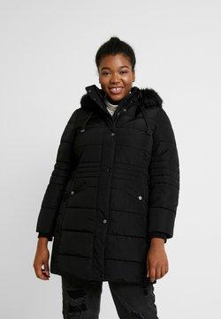 Evans - TAB SIDE PADDED COAT - Short coat - black