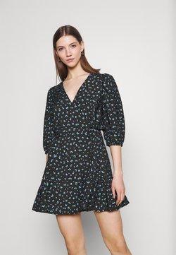 EDITED - GEMMA DRESS - Freizeitkleid - schwarz/blau/mischfarben