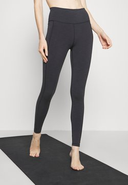 Sweaty Betty - SUPER SCULPT YOGA LEGGINGS - Tights - black marl