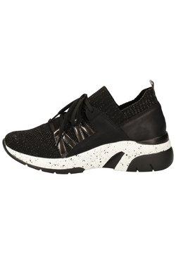 Remonte - Sneaker low - schwarz-metallic/blei/nero /
