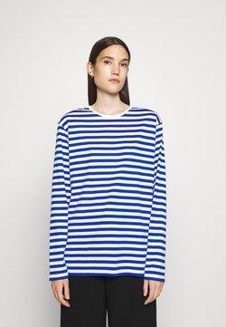 Marimekko - PITKÄHIHA  - Langarmshirt - white/blue