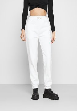 Even&Odd - High Waist Loose Fit Joggers - Jogginghose - off-white