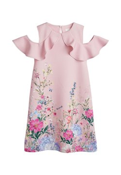 Next - BERRY PONTE  - Freizeitkleid - light pink
