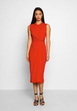 WAL G. - SIDE KNOT DRESS - Vestido de cóctel - red