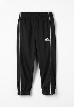 adidas Performance - CORE ELEVEN FOOTBALL PANTS - Verryttelyhousut - black/white