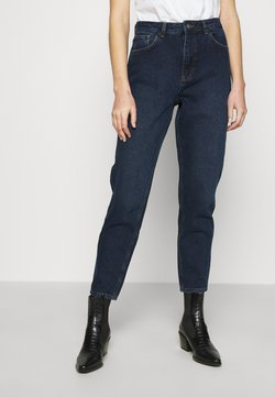 NU-IN - HIGH RISE MOM - Jeans baggy - dark blue wash