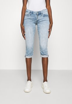 Mavi - ALMA - Jeans Shorts - light blue denim