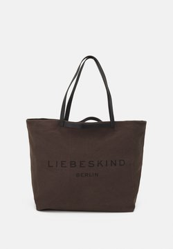 Liebeskind Berlin - SHOPPER LARGE - Shoppingväska - nori green
