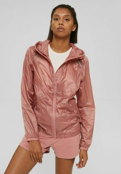 Esprit - Regenjacke / wasserabweisende Jacke - old pink
