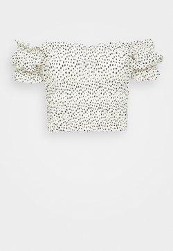 Gina Tricot - ELISIA OFF SHOULDER - Bluse - white