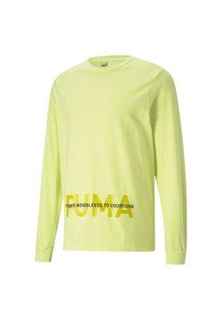 Puma - Pitkähihainen paita - soft fluo yellow