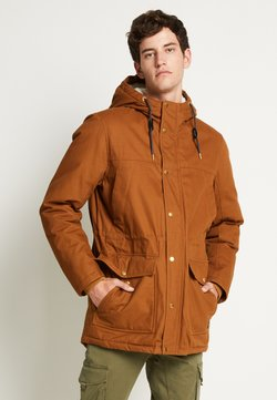 Jack & Jones - JORWALLY JACKET - Wintermantel - rubber