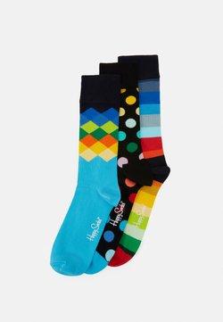 Happy Socks - BIG DOT FADED DIAMOND PACK 3 PACK - Socken - multi