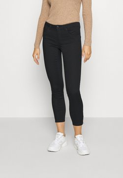 Vero Moda - VMTANYA PIPING ZIP - Jeans Skinny Fit - black