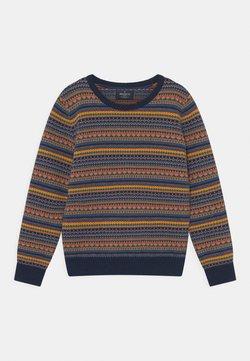 Hackett London - FAIRISLE CREW  - Stickad tröja - multi-coloured