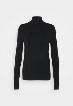 ONLY Tall - ONLVENICE ROLLNECK - Jersey de punto - black