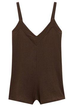 PULL&BEAR - Combinaison - mottled light brown