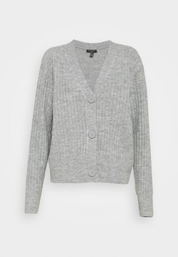 New Look Tall - CARDIGAN - Gilet - mid grey